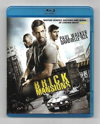 Blu-Ray Disc / Brick Mansions - Paul Walker / Comme Neuf