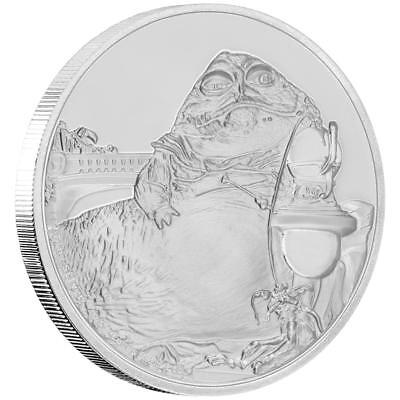 Niue 2 Dollar 2018 - Jabba The Hutt - Star Wars Classic (11.) - 1 Oz Silber PP