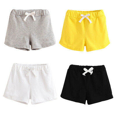 Summer Kids Shorts Boys Girl Clothes Baby Pants Baby Cotton Shorts Sports Pants
