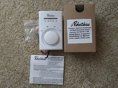 Robertshaw Line Voltage Thermostat 803A