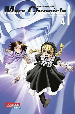 Battle Angel Alita: Mars Chronicle 4 - Deutsch - Carlsen Manga - NEUWARE