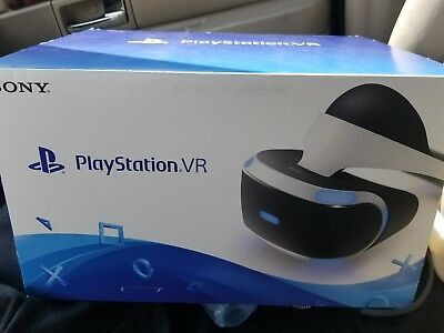 Sealed Sony PlayStation VR PSVR Virtual Reality Headset