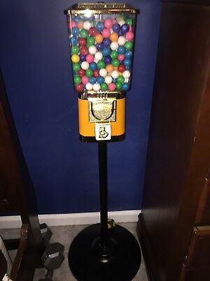 One Head Gumball Machine - Used - 25 c -Yellow