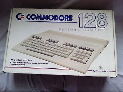 COMMODORE 128 COMPUTER (C128) with 1541-II Disk Drive and Games - Boxed