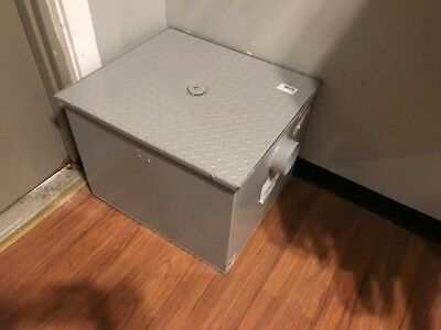 ZURN Grease Trap Interceptor,4 In,35 GPM, GT2700-35-4NH New Local pickup only