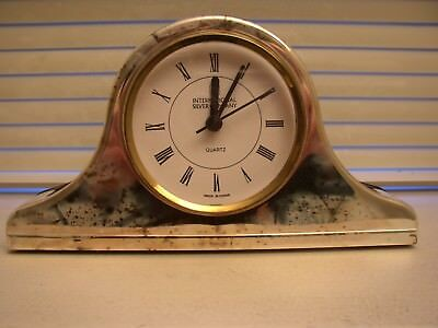 Silver Plated Mantle Clock - International Silver Co - NEW in Box, Free Shipping