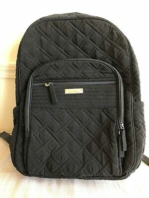 VERA BRADLEY Campus Tech Backpack in Classic Black NWT
