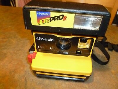 POLAROID JOB PRO 2 Instant Film CAMERA (untested)