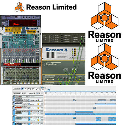 *NEW Propellerhead Reason Limited (Can use to upgrade to Reason 10 full version)