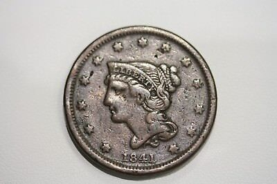 1841 Large Cent Better Date