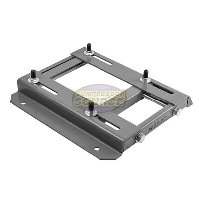 256T Frame Electric Motor Base Mount Adjustable Slide Plate Universal Mounting