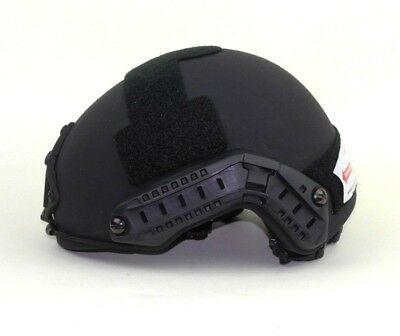 Ops Core FAST Ballistic High Cut XP Helmet Skeleton Shroud Black Medium Large
