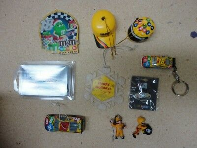 M&Ms / M&M Lot of Racing Items