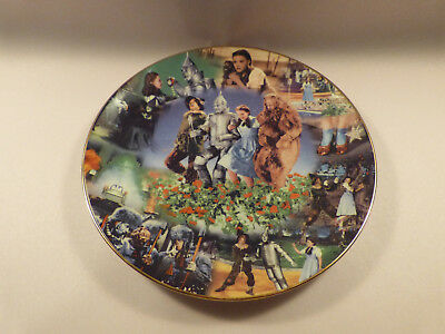 """The Wizard of Oz plate. Scarce """"To Oz"""" series (#2) by Bradford. Limited Edition."""