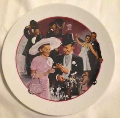 """AVON - Images of Hollywood  - """"Easter Parade"""" - Collector Plate - Box"""