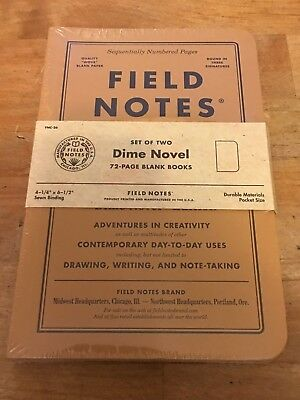 Field Notes Dime Novel 2017 Fall Edition - Sold Out - Limited Edition