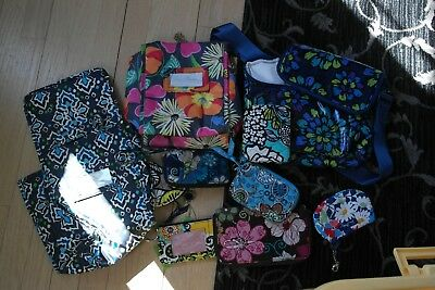 Vera Bradley Tote Bag + Wallet HUGE Lot