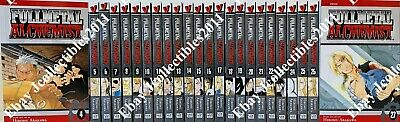 Fullmetal Alchemist (Vol. 1 - 27) English Manga Graphic Novels SET Complete NEW