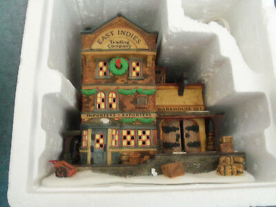 """The Heritage Village Collection,dickens' Village Series""""east Indies Trading Co."""""""