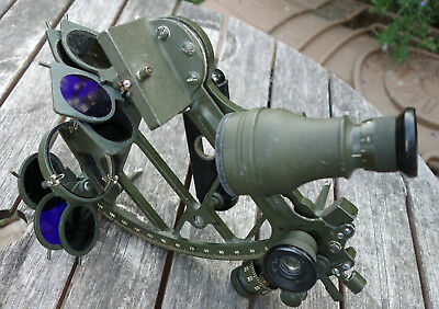 USSR Marine Sextant SNO-M 1969 with Case