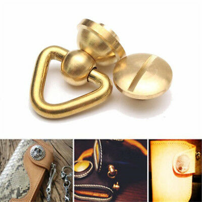 Metal Brass Copper Connector Joint Buckle For Wallet Chain Key Safety Hardware