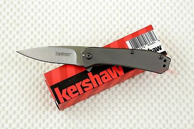* 3870 Kershaw Amplitude 2.5 pocket knife plain edge Assisted Opener NIB Rexford
