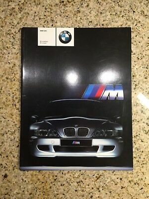 Nice 2001 BMW M Roadster & Coupe USA Version Sales Brochure! LQQK!!!