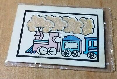 Cracker Jack Weather Indicator Steam Train With Coal Tender Toy Prize