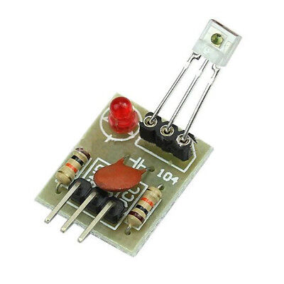 Hot Sale High Level Non-modulator 5V Laser Receiver Sensor Module For Arduino