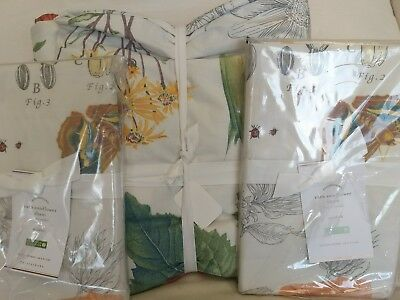Nwt Pottery Barn Felicity King Duvet Cover Amp 2 Euro Shams