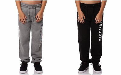 2018 Rip Curl Boys Youth Transfer Fleece Track Pant  Jogging Trousers Size 10-16