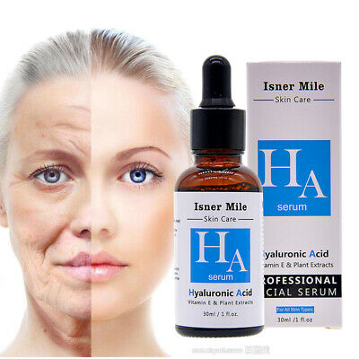 Hyaluronic Acid Strong Anti Wrinkle Serum 100% Natural Pure Firming Collagen