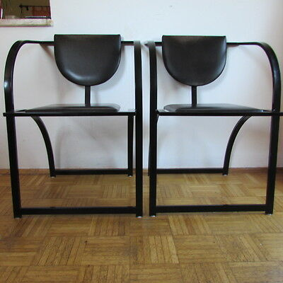 2 x KFF Ligne Roset Design Ledersessel Lounge Chair Stuhl Sessel
