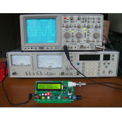 DDS Function Signal Generator Sine Triangle Square Wave Frequency 1HZ-500KHz 2'