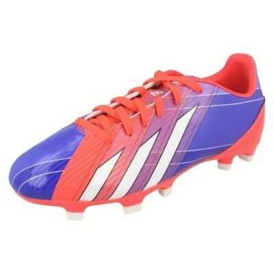 237f3826b4c Boys Adidas Lionel Messi Lace Up Synthetic Studded Football Boots F10 TRX FG  J