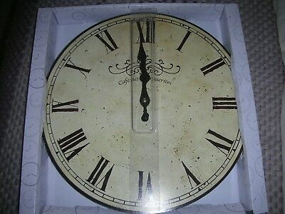 Large French Style wall clock New in box