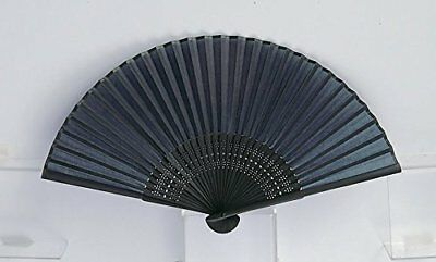 Japanese Folding Fan with Traditional Color Aitetsu or Navy Blue
