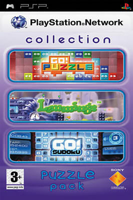 PSN Playstation Network Collection Puzzle Pack SONY PSP IT IMPORT