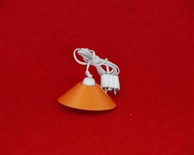 Kahlert Hängelampe orange 10599 Ø 35mm Puppenhaus Puppenstube