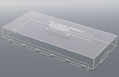 The Clipper Station Barber Tray Lid - LID ONLY