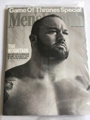 MEN'S HEALTH Magazine May 2016 - Thor Mountain Cover - Fitness Weightloss New