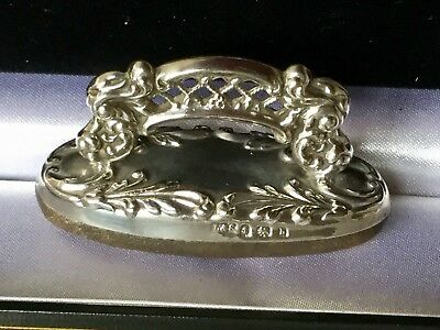 antique solid silver Nail Buffer