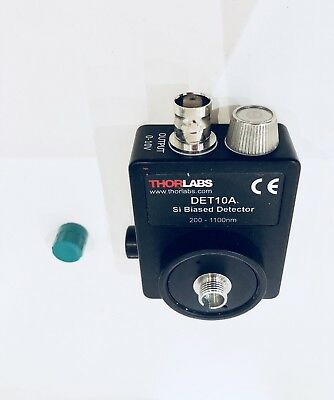 THORLABS DET10A - Si Detector, 200 - 1100 nm, 1 ns Rise Time, 0.8 mm², 8-32 Taps