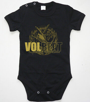 Volbeat Baby Body High Quality Dtg Print
