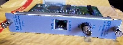 Agilent Lan Card, HP J4100A, J4100-60002 (5183-3804) with crossover cable...
