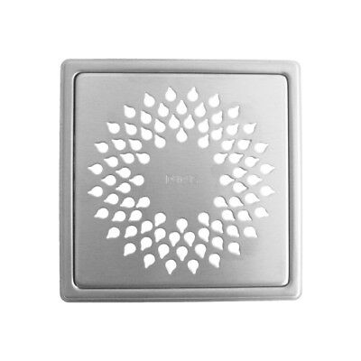 Grate for Tiled Floor Stainless Steel Wave  155 x 155mm Purus PU.7138361
