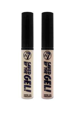 W7 Saved By the Gel Super Gel Concealer for Any Coverage - 8 ml
