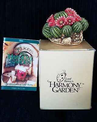 "Lord Byron's Harmony Garden ""CACTUS""   1998 Retired ~ MIB"