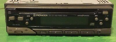 pioneer deh-1000 car stereo system