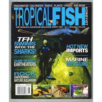 Tropical Fish Hobbyist Magazine June 2009 MBox3136/C TFH Swims with the sharks!